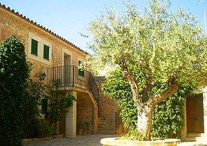 Mallorca Hotel, in Herrenhaus aus dem 15. Jahrhundert, in Ruberts ...