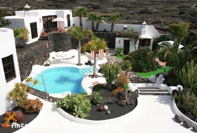 Lanzarote villa mit pool 6 personen cesar manrique costa - Lanzarote casa de cesar manrique ...