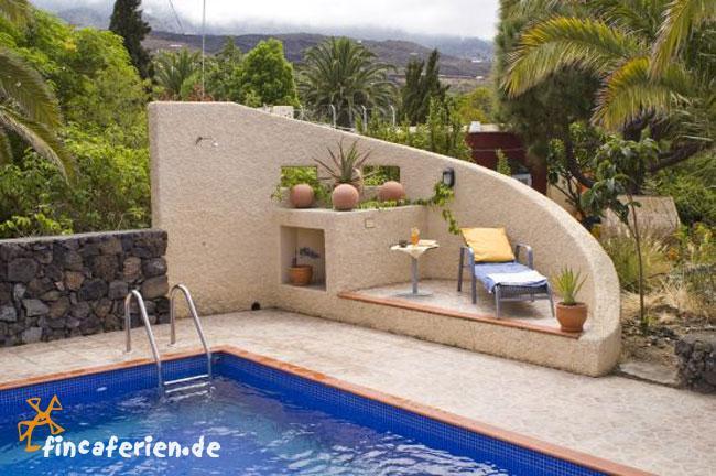 La Palma Ferienhaus Mit Pool Internet Sonnige Westkuste