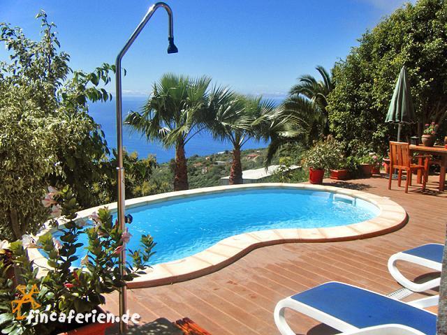 ferienhaus mit pool auf la palma ideal zum wandern. Black Bedroom Furniture Sets. Home Design Ideas