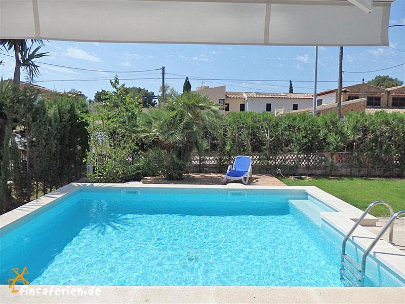 Mallorca strandnahes ferienhaus mit pool klimaanlage internet in cala ratjada fincaferien - Formentera ferienhaus mit pool ...