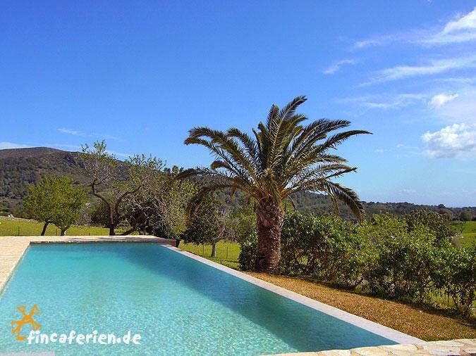 Mallorca designer finca mit pool bei son macia for Finca mit pool
