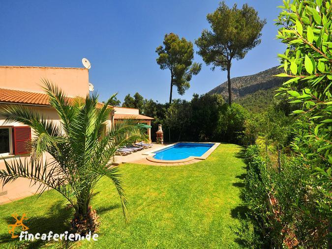 Klimatisiertes ferienhaus mit privatem pool auf mallorca for Garten pool wanne