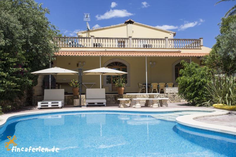Mallorca gro es ferienhaus mit pool klimaanlage wlan gratis fincaferien - Formentera ferienhaus mit pool ...