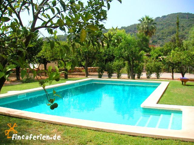 mallorca finca mieten mit pool an der westk ste fincaferien. Black Bedroom Furniture Sets. Home Design Ideas