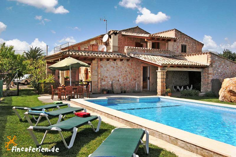Mallorca Private Finca Mit Pool Und Garten Zwischen