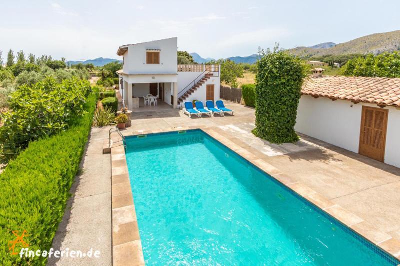 Gut gemocht Mallorca: kleines Ferienhaus mit Pool bei Puerto Pollenca DH72