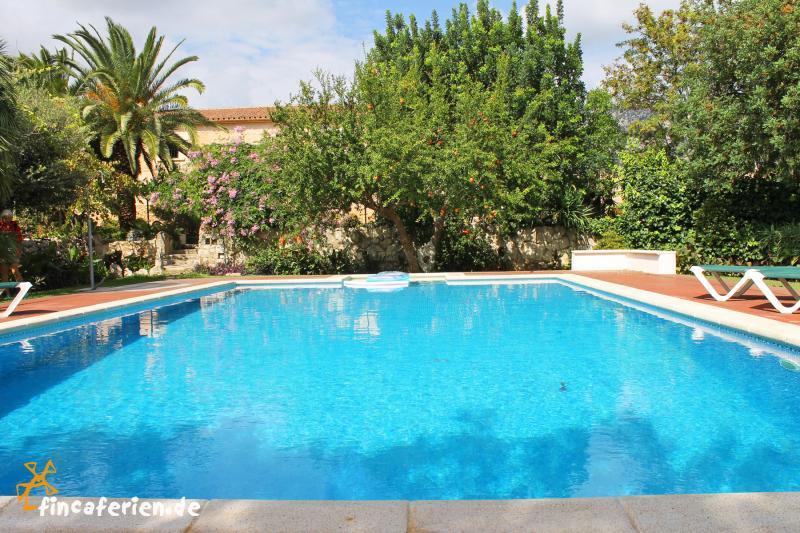 Mallorca gruppenreise landhotel bei pollenca mit pool und - Gartenanlage mit pool ...