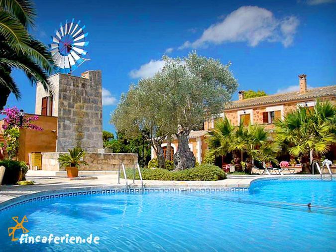 Finca hotel mallorca mit pool w lan klimaanlage bei for Design hotel mallorca strand