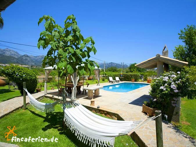 Familienurlaub finca mallorca mit pool klimaanlage for Finca mit pool