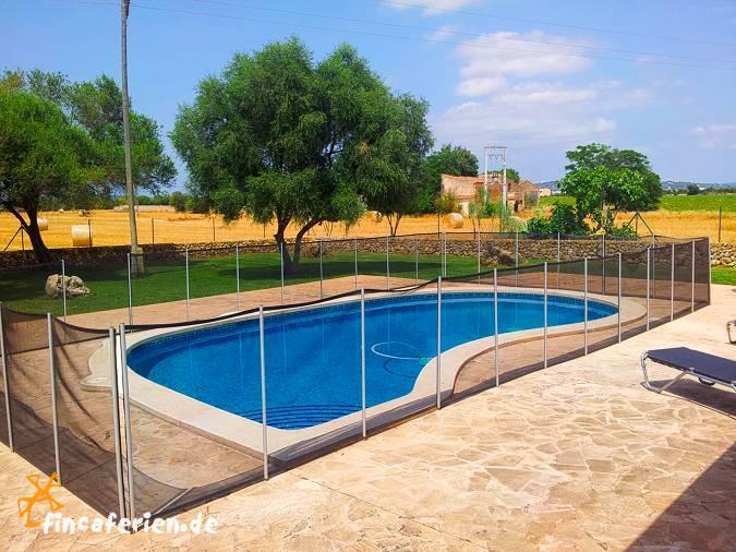 Mallorca Finca Mit Eingezauntem Pool Nahe Manacor Fincaferien