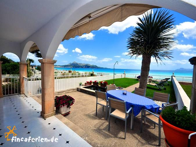 Apartment mallorca direkt am strand von alcudia for Design hotel mallorca strand