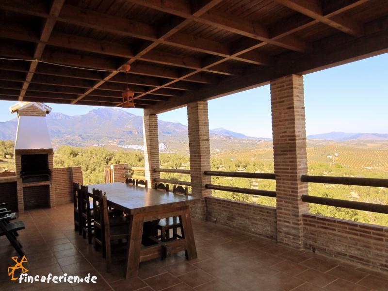 Andalusien g nstiges ferienhaus mit eingez untem pool und for Wohnzimmer 4m breit