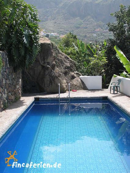 ferienhaus teneriffa mit meerblick auf einer finca mit pool fincaferien finca. Black Bedroom Furniture Sets. Home Design Ideas