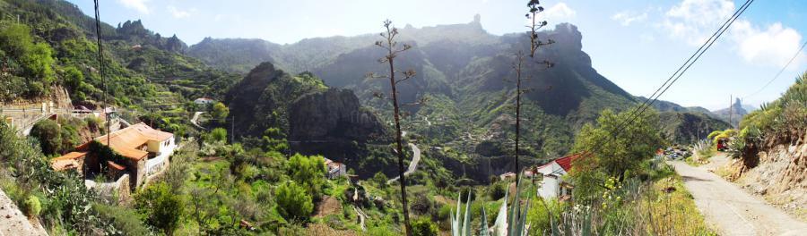 Modernisiertes Landhaus mit Blick auf den Roque Nublo - Wanderurlaub Gran Canaria