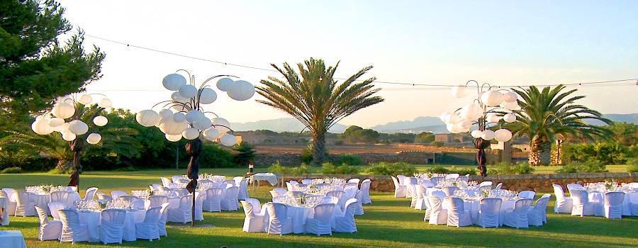 Fincahotel für Hochzeitsfeierlichkeiten