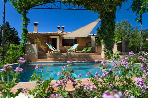 Finca mit Pool bei Fornalutx für 8 Personen, Mallorca West (Nr. 0205)