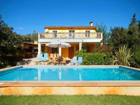 Mallorca Ferienhaus mit Internet und Pool, Pollenca (Nr. 0271)