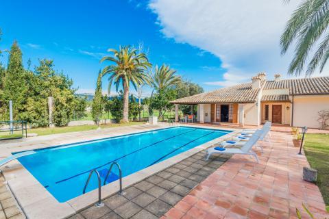 Finca mit großem Pool und Klimaanlage bei Binissalem (Nr. 3019)