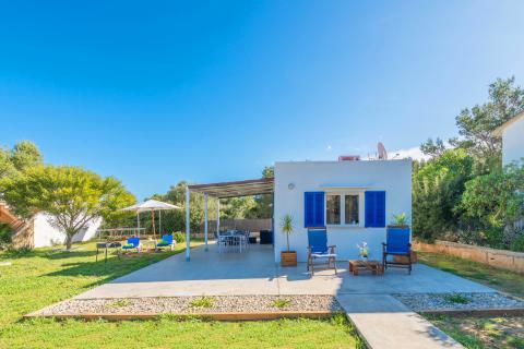 Kleines, strandnahes Ferienhaus in S'Estanyol (Colonia de Sant Pere) (Nr. 3044)