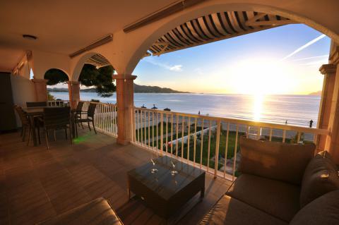 Mallorca Apartment am Strand von Alcudia mit Meerblick (Nr. 3052)