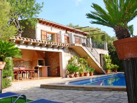 Mallorca Landhaus mit Pool für 6 Personen (Nr. 3055)