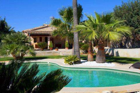 Mallorca Finca mit Pool und Garten, ruhige Lage (Nr. 3057)