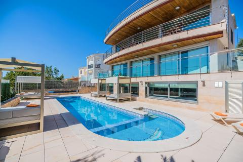 Mallorca: exklusive Villa mit Pool, Indoor-Pool und Internet (Nr. 3065)