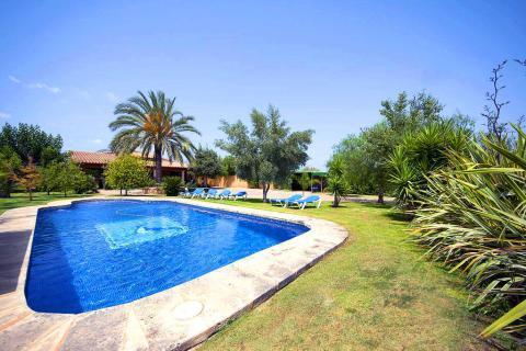 Finca mit Pool, Tennisplatz und Klimaanlage Binissalem (Nr. 3087)