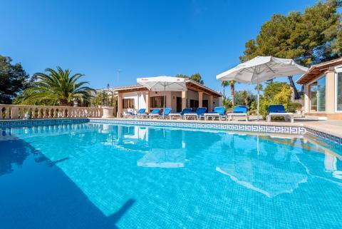 Strandurlaub Cala Murada - Ferienhaus mit Pool und Klimaanlage (Nr. 3089)