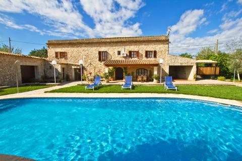 Mallorca Finca mit Pool, Klimaanlage und Tennisplatz für 6 Personen (Nr. 3094)