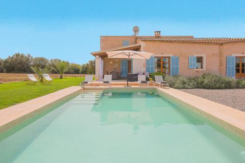 Mallorca kleines Ferienhaus mit Pool in ländlicher Lage bei Felanitx (Nr. 3095)