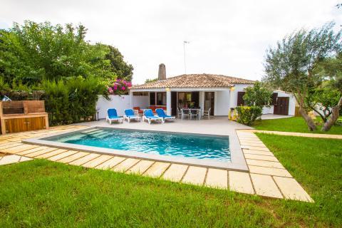 Sa Pobla, Ferienhaus mit Pool und Klimaanlage für 4 Personen (Nr. 3096)