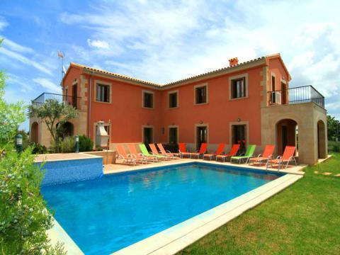 Mallorca Familienurlaub auf Finca für 12 Personen mit Pool bei Muro (Nr. 3102)