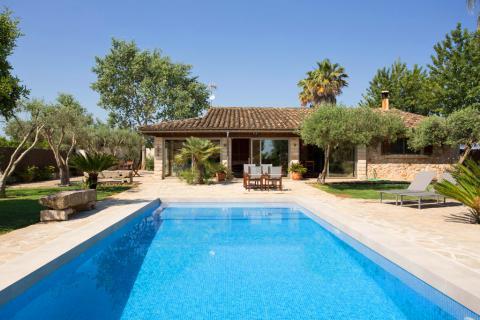 Mallorca Landhaus mit Pool und Garten für 5 Personen, Sa Pobla (Nr. 3112)