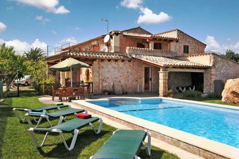 Mallorca private Finca mit Pool und Garten zwischen Pollenca und Puerto Pollenca (Nr. 3129)