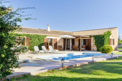 Mallorca Finca mit Pool, Internet und Klimaanlage (Nr. 3142)