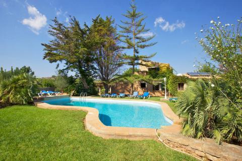 Familienurlaub: strandnahes Ferienhaus für 10 Personen mit Pool und Garten (Nr. 0329.3)