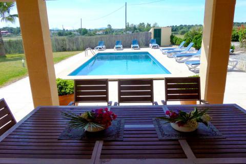 Mallorca Urlaub im Ferienhaus mit Pool und Klimaanlage (Nr. 0402)