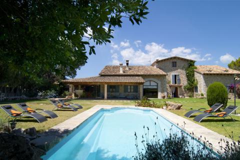 Mallorca: Große Finca mit Pool und Garten für 8 Personen (Nr. 0452)