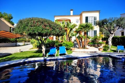 Ferienhaus mit Pool und Klimaanlage in Alcanada (Alcudia) (Nr. 0458)
