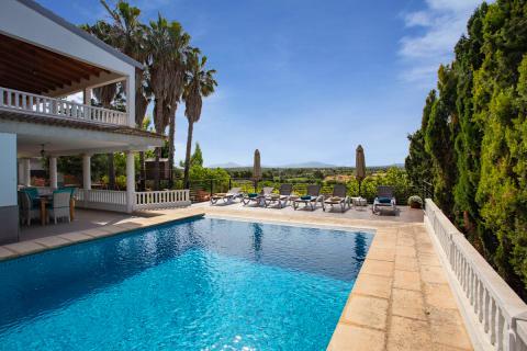 Mallorca Ferienhaus mit Pool für Ferien mit der Familie (Nr. 0606)