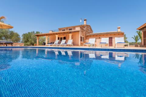 Mallorca: Finca für 8 Personen mit Pool, Campos (Nr. 0642)