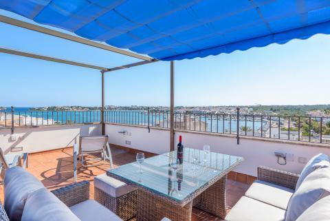 Mallorca Ferienhaus am Meer für 10 Personen mit Klimaanlage und Internet (Nr. 0643)