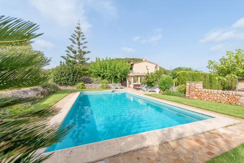 Cala Murada: Ferienhaus für 8 Personen mit Pool und Garten (Nr. 0665)