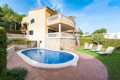 Golf- und Badeurlaub auf Mallorca- Ferienhaus mit Pool (Nr. 0679)