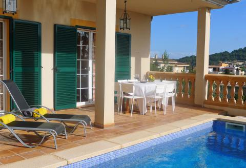 Ferienhaus für 8 Personen mit Pool - Son Servera (0221)