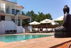 Strandnahe, moderne Villa mit Pool und Klimaanlage (Nr. 0020)