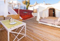 Ferienhaus mit Dachterrasse und Klimaanlage in Ibiza-Stadt (Nr. 0023)