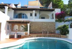 Ferienhaus mit Pool und Meerblick - Ibiza Cala Comte (Nr. 0045)